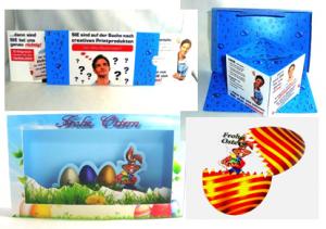 Effektkarten als Werbeartikel, Werbegeschenke oder Streuartikel